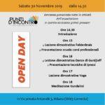 Programma Open Day