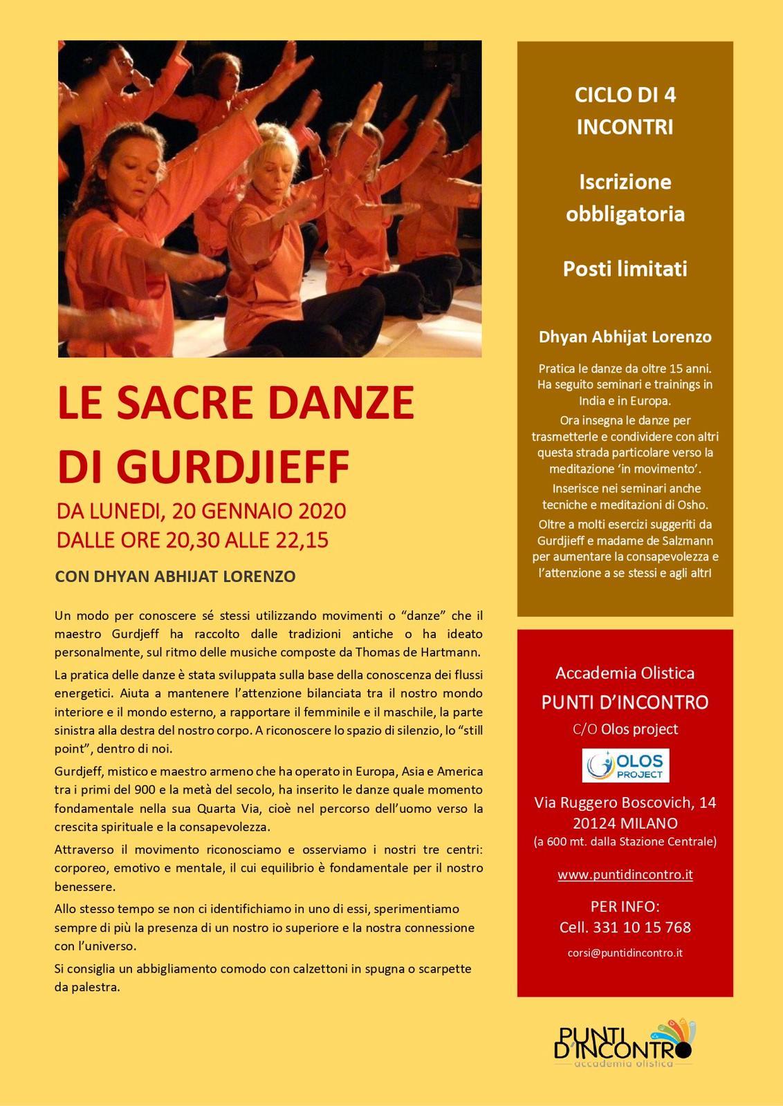 Le Sacre Danze di Gurdjieff